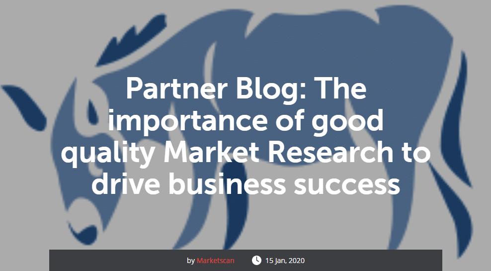Blue Donkey partner blog with Marketscan